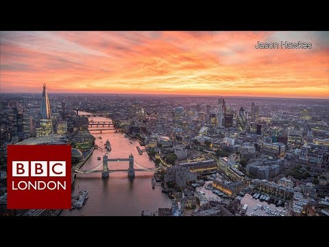 Documenting London's changing skyline from the air – BBC London News