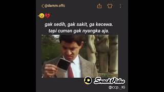 Download lagu STORY WA MR BEAN KECEWA