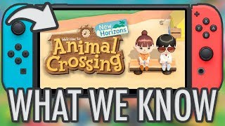 Animal Crossing New Horizons - EVERYTHING WE KNOW