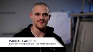 Pascal Lagerin: Vom Informatikstudium zum Metallbauer