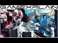 Kratos Boss Fight in Shovel Knight (& Blades of Chaos!)