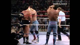 Valentine/Beefcake vs Bulldogs 3/1/86