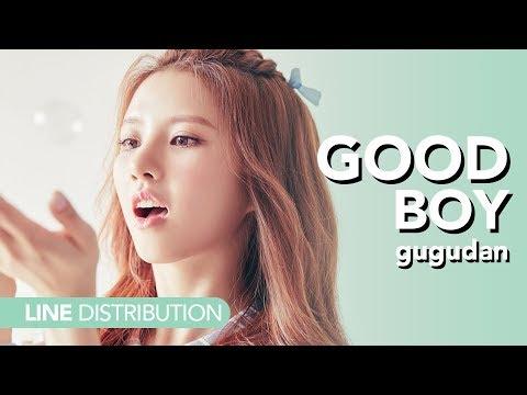 구구단 gugudan - Good Boy | Line distribution