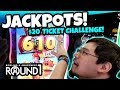 $20 Arcade Ticket Challenge! Tons of fun Winning Tickets at Round 1 Arcade! TeamCC