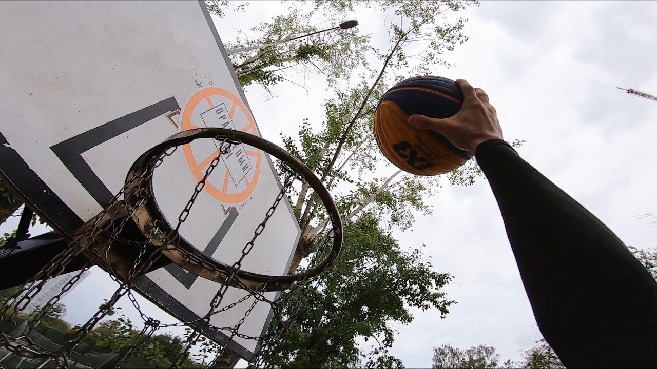 "Баскетбол от первого лица | AirMax 6'3"" | FIRST PERSON DUNK TRAINING | Данки от первого лица"