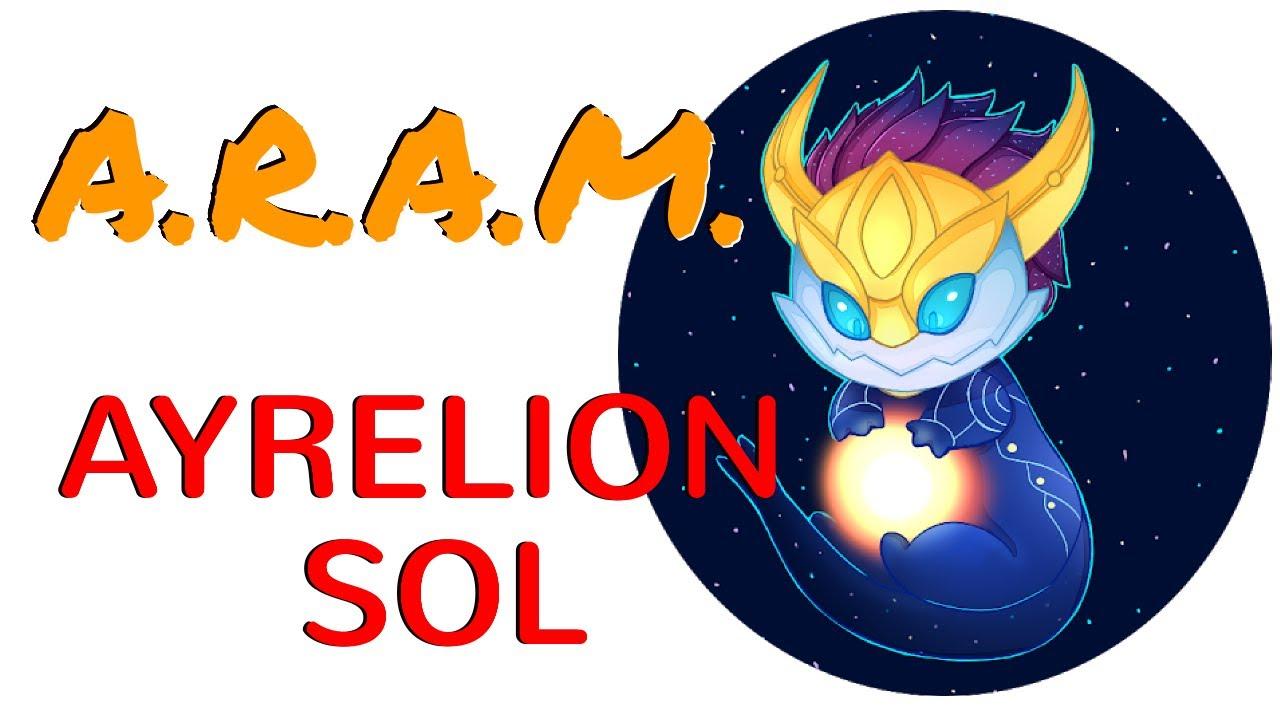 League Of Legends Aram Aurelion Sol The Huge Damage Master Sol Youtube Nerf savunma kiti ve nerf saldırı kiti gibi özel oyuncak grupları ile çocukların farklı eğlenceler yaşaması mümkün oluyor. youtube