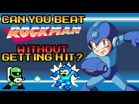 VG Myths - Can You Beat Rockman Without Getting Hit?