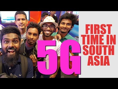 5G IN SOUTH ASIA FOR THE FIRST TIME