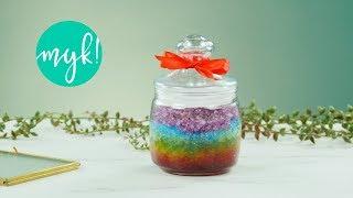 Kolorowy peeling cukrowy do ciała - zrób to sama!