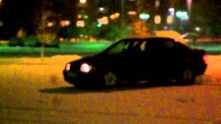 BMW e36 318i Snow drift 2012.
