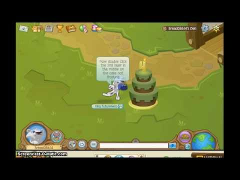 Animal Jam 4th Birthday Cake Secret Order YouTube