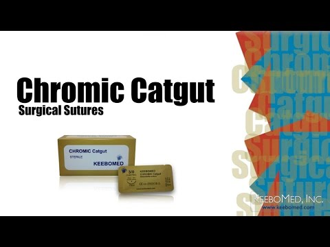 Chromic Catgut Surgical Sutures