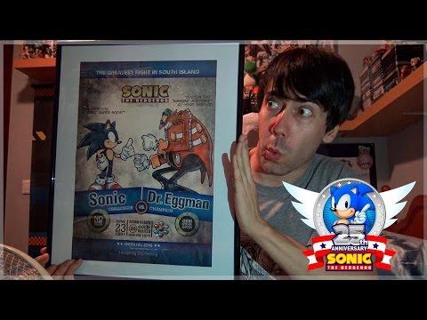 Sonic 25th Anniversary Limited Edition Art Print