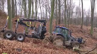 Valtra N134 + Palms 15D 4WD hydraulic BB5