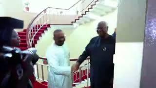 Formal president visit