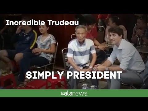 Apec 2017, Justin Trudeau, simply president in Vietnam