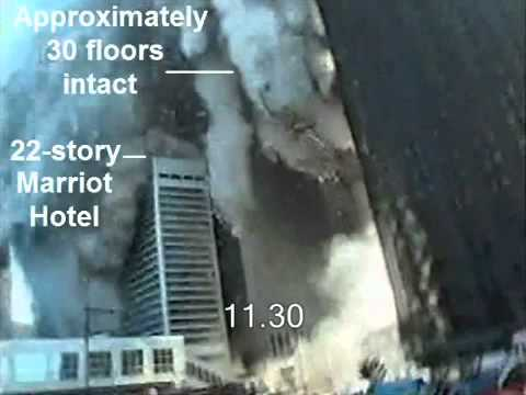 YouTube   9 11 Debunked  World Trade Center   No Free Fall Speed