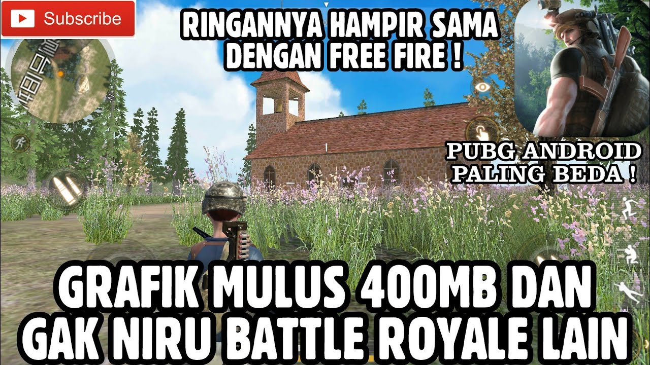 Pubg android paling beda dan gak niru law of the jungle indonesia battle royale ringan 400mb