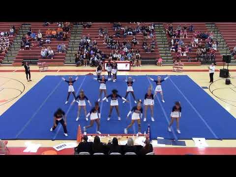 North Stafford High School at Falcon Cheer invitational 2019