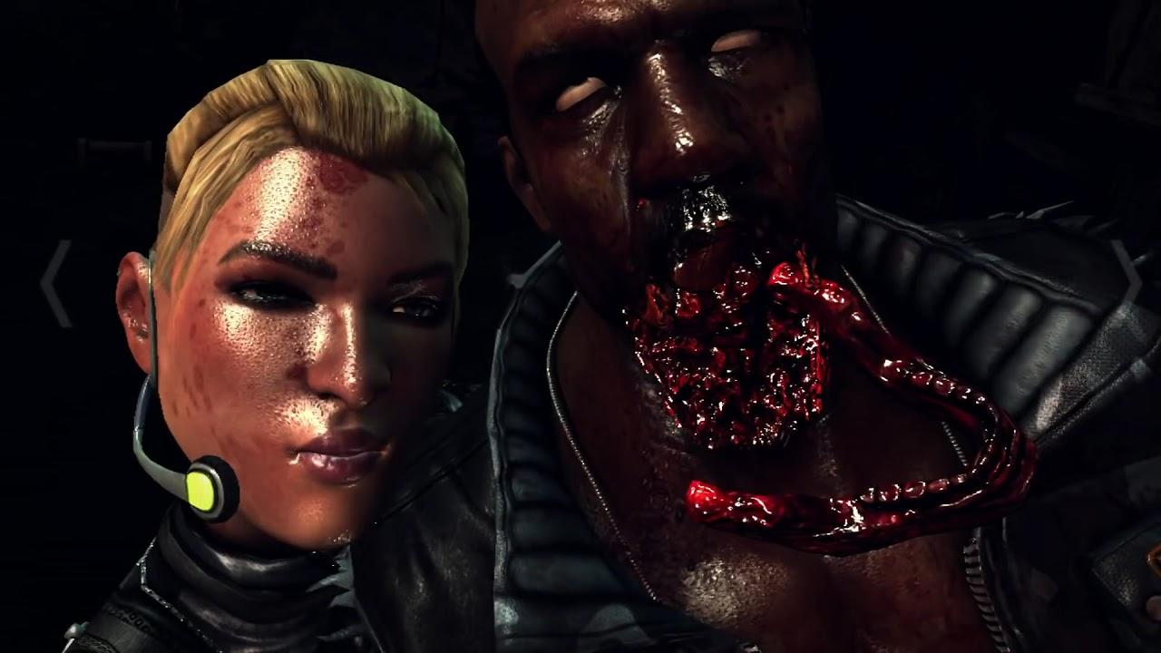 Mortal Kombat X - Cassie Cage - Fatalities - YouTube