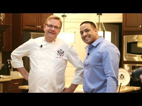 The Recipes of Success with White House Chef John Moeller & Daniel Ally + Cooking Demo