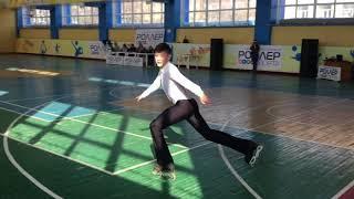 Первенство города Новосибирска по фигурному катанию на роликовых коньках