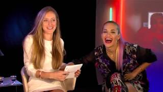 Rita Ora Interview Video