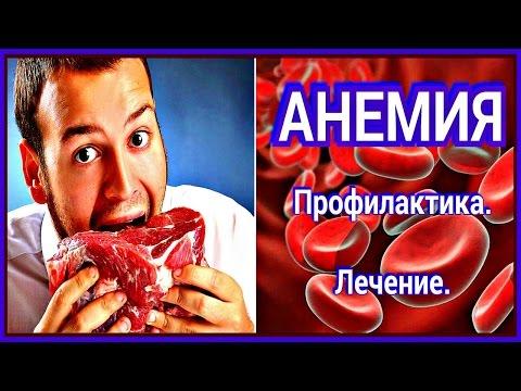 Признаки низкого гемоглобина у человека