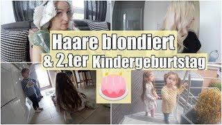 Haare blondiert I 2.ter Geburtstag I Geschenk I Eure Meinung ist gefragt I Familienvlog