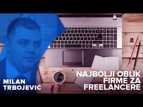 Najbolji oblik firme za online i freelance poslovanje