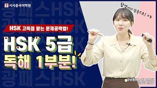 ✨ HSK 5급 독해 1부분 공략법!Ⅱ✍ HSK 시험 …