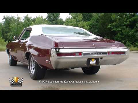 134283 / 1970 Buick GS455 Stage 1
