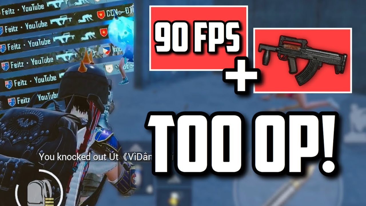 When SIX FINGER player with 90 FPS gets Groza! | PUBG Mobile