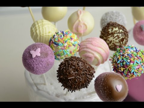 Cake Pops decorating ideas for birthday party & Cake Pops decorating ideas for birthday party - YouTube