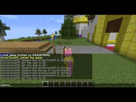 how to play a video in minecraft