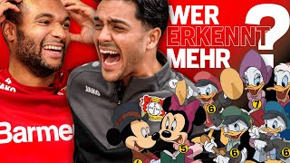 WHO RECOGNISES MORE? | Jonathan Tah vs. Nadiem Amiri | Bayer 04 Leverkusen