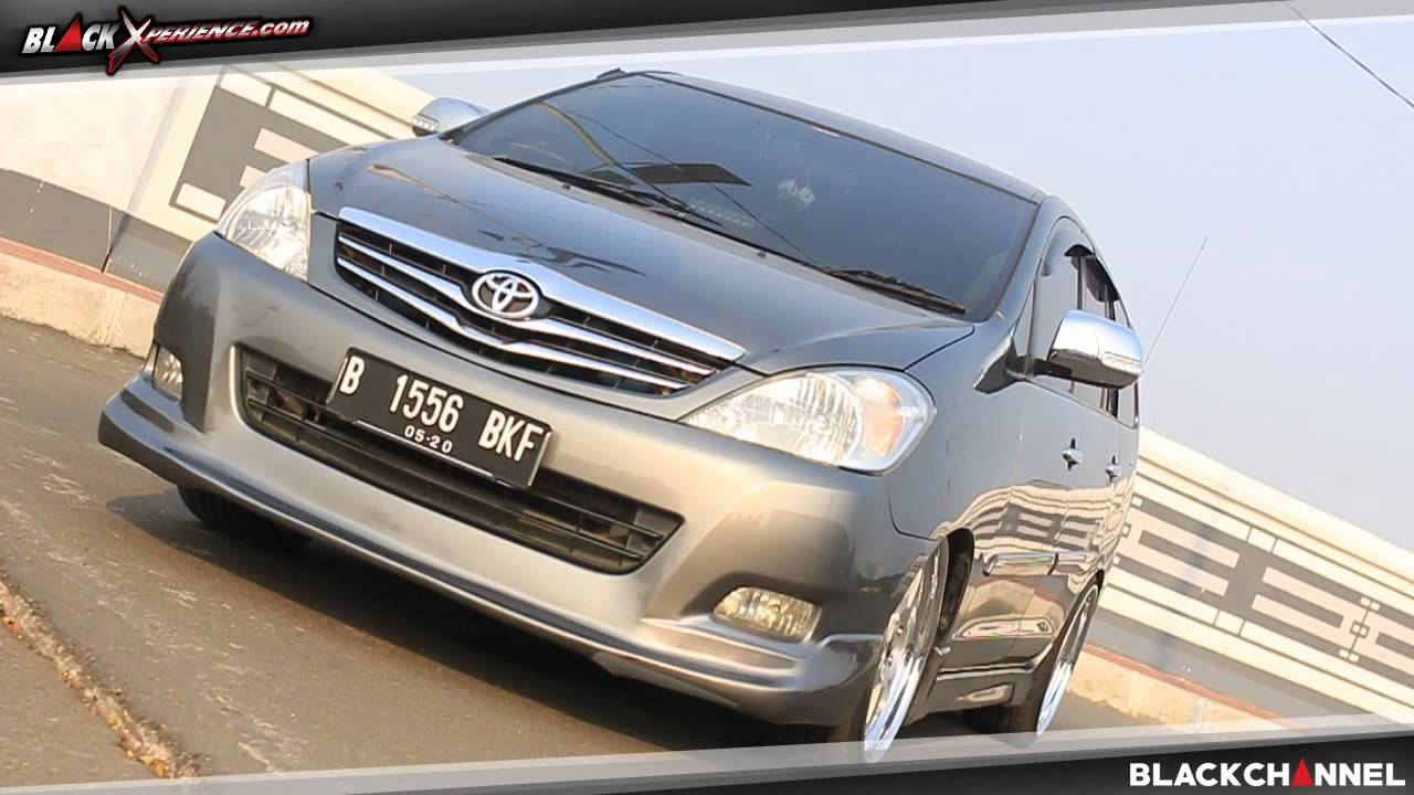 bodykit all new kijang innova buku manual grand veloz modifikasi toyota berkonsep living room youtube