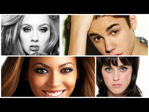 Top 10 Most Popular Hollywood Singers In 2016 | World Ranking
