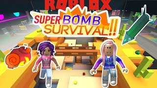 Roblox: Super Bomb Survival / Raining Explosives from the Sky!