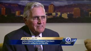 VIDEO: Former astronaut, senator reflects on John Glenn