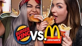 FAKE VS ORIGINAL | FASTFOOD VERSION - MC Donalds VS Burger King
