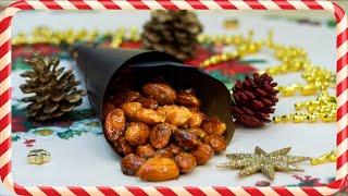 Pražené mandle v karamelu recept - Vařte s Majklem