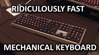The Quickest Mechanical Keyboard on the Market? Cherry MX Board 6.0 featuring Real Key - CES 2015