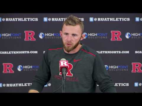 RVision: OC Drew Mehringer Postgame Press Conference - Illinois