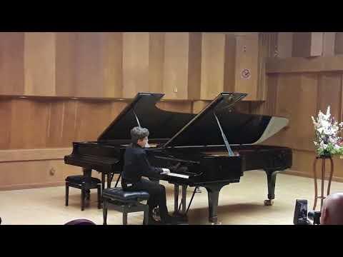 Yali playing Schumann Arabeske C-dur Optus 18. at the Jerusalem Music Center. March 2018.
