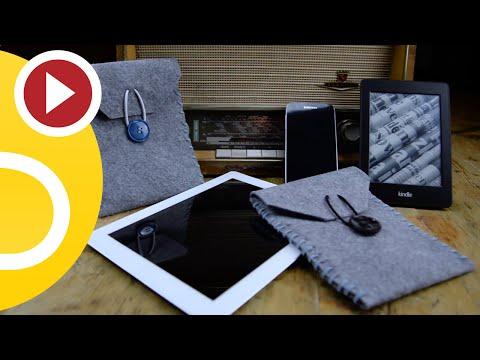 DIY Kindle / iPad / iPhone / Samsung Galaxy - Felt Case (idea for present)