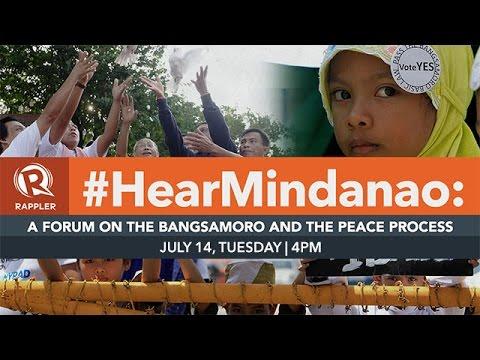 #HearMindanao: Why we need to talk peace.