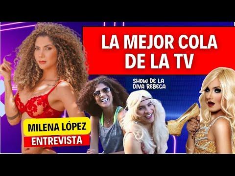 Diva Rebeca entrevista a la mejor cola de la tv 2015, la Crespa Martinez.