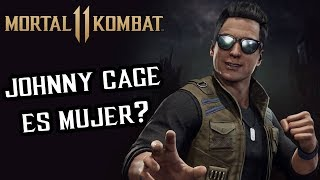¿JOHNNY ES MUJER? 🔥 Johnny Cage 🔥 MORTAL KOMBAT 11 Torres #4