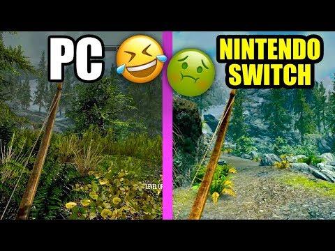 IT MADE ME SICK! - SKYRIM on Nintendo Switch - YouTube
